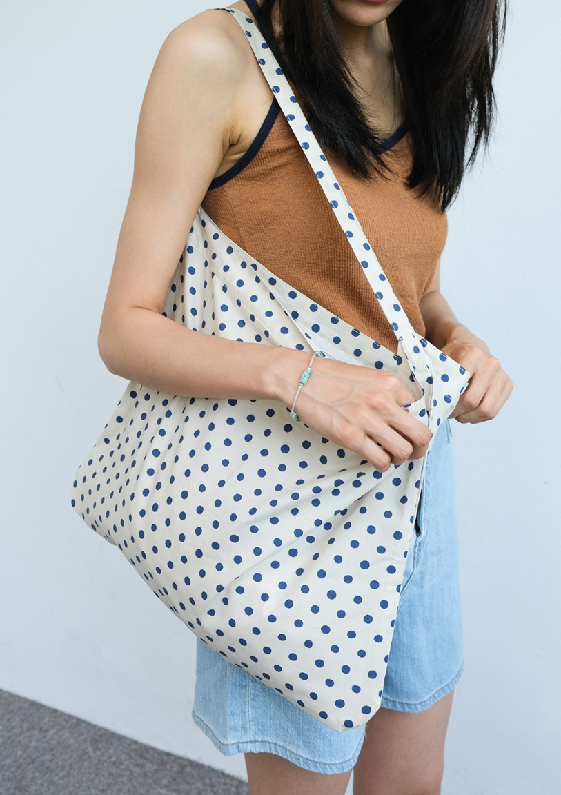 [당일출고] dotted cotton eco bag